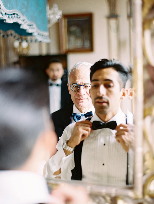 Groom-Getting-Ready-Tuxedo