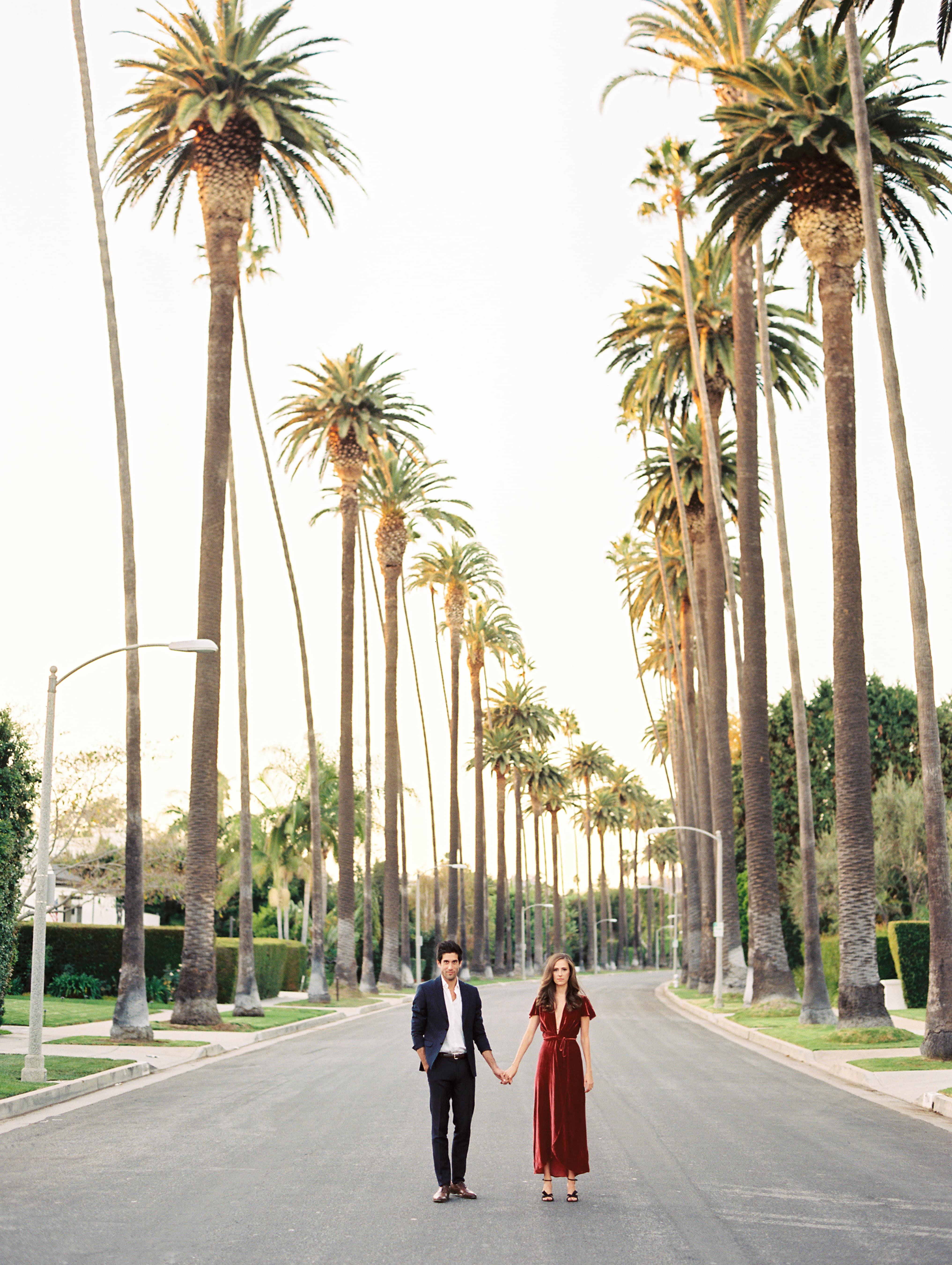 Los-Angeles-Engagement-Photos