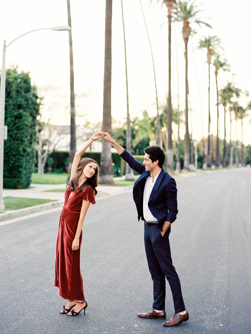 Los-Angeles-Engagement-Photos
