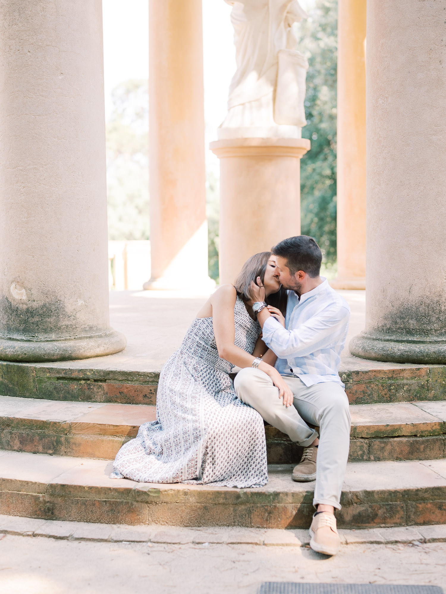 Barcelona Spain Engagement Photographer