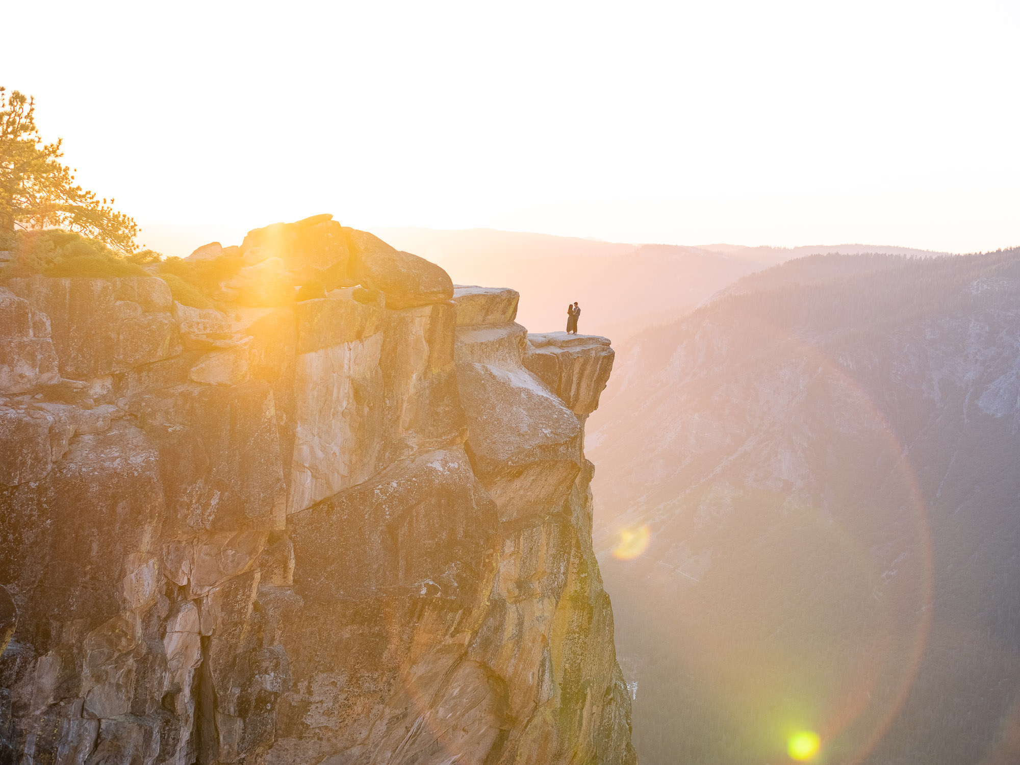 Yosemite-Taft-Point-Engagement